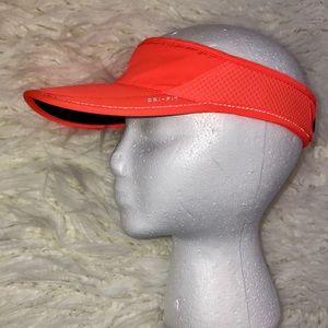 Nike visor orange